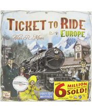 TICKET TO RIDE EUROPE ...
