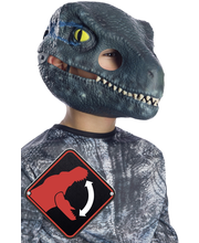 Rubie's Jurassic World Velociraptor lasten naamio