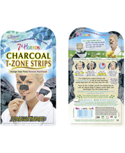 MJ 3 x T-Zone Strips - Charcoal & Tea Tree Strips