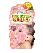 Mj pink oxygen bubble mask