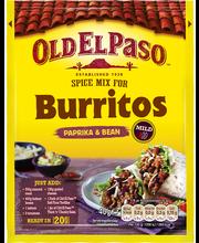 Old El Paso 40g Burrito Spice Mix maustesekoitus