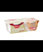 Risella Punainen ja valkoinen kvinoa 2x125g heti valmis