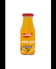 Mehuiza Appelsiini Täysmehu 100% 0,2l