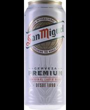 San Miguel 4,5% 24x0,5L PALPA-tölkki olut
