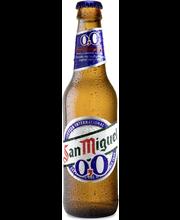 San Miguel 0,0 % 330 ml plo alkoholiton olut
