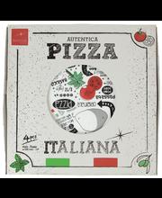 Bormioli pizzalautanen 33 cm 4 kpl/pkt