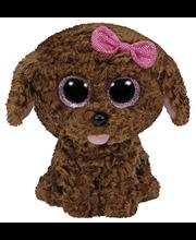 Ty Maddie ruskea koira pehmo 15 cm