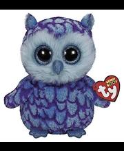 Ty Oscar sininen/violetti pöllö pehmo 22 cm