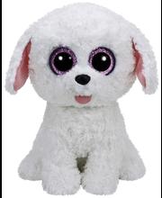 Ty Pippie valkoinen koira pehmo 22 cm