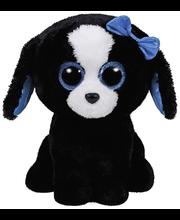 Ty Tracey mustavalkoinen koira pehmo 22 cm