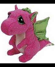 Ty Darla vaaleanpunainen lohikäärme pehmo 15 cm