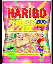 HARIBO Flowerzourr 125g kirpeä viinikumi