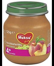 Nutricia Muksu 125g Persikkaherkku 4kk