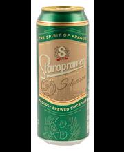 Staropramen Selection 4,7% 0,5l oluttölkki