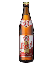 Rebel 50cl Lager Beer 4,4% pullo Olut