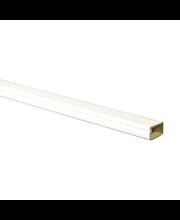 Johtokouru 15x10 mm, 2 m 1034 valkoinen