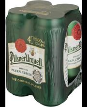 Pilsner Urquell 4,4% 50cl PALPA-tölkki 4-PACK olut
