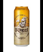 Velkopopovicky Kozel Premium 4,6% 0,5 l tlk olut