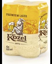 Velkopopovicky Kozel Premium 4,6% 50cl PALPA-tölkki 4-PACK