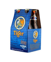 Tiger lager olut 4,6% 4x0,33 l 4px6 laatikko