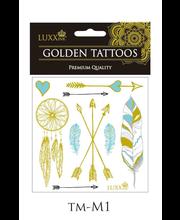 LUXXink Golden Tattoo Premium Quality mini size