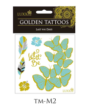 LUXXink Golden Tattoo Last 4-6 Days mini size