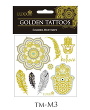 LUXXink Golden Tattoo Summer Musthave mini size