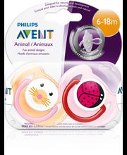Philips Avent 2kpl Eläintutti 6-18kk