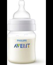 Philips Avent koliikkia ehkäisevä tuttipullo 125ml