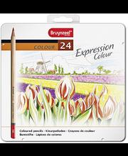 Bruynzeel expression värikynät 24 kpl