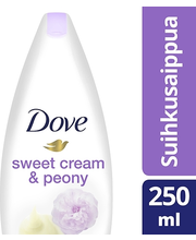 Dove 250ml Sweet Cream&Peony suihkusaippua