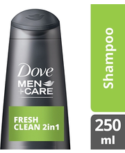 Dove Men Care 250ml Fresh Clean shampoo