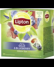 Lipton 20ps Green Goji Blueberry pyramiditee
