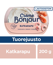 Creme Bonjour 200g Katkarapu laktoositon