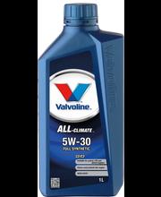 Valvoline ALL CLIMATE moottoriöljy 5W30 C2/C3 1L