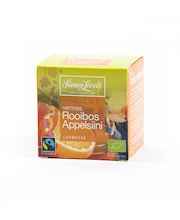 Simon Lévelt 10x1,5g Rooibos appelsiini reilun kaupan luomutee