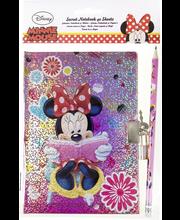 Disney päiväkirja lukolla  lyijykynä, 4 eril.lajit.