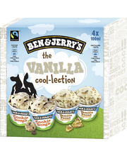 Ben&Jerry's 400ML / 296g Monipakkaus Vanilla Cool-Colection