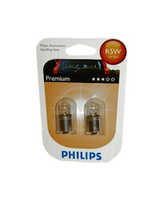Autolamppu Philips Automotive Premium R5W 12 V 5 W, 2 kpl
