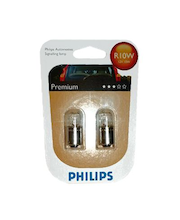 Autolamppu Philips Automotive Premium R10W 12 V 10 W, 2 kpl