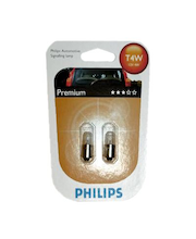 Autolamppu Philips Automotive Premium T4W 12 V 4 W, 2 kpl