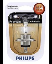 Philips H4 Premium autolamppu 12V 60/55W