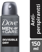 Dove Men+Care 150ml Invisible Dry antiperspirant spray