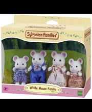 Sylvanian Families Valkoinen hiiriperhe