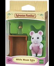 Sylvanian Families Valkoinen hiirivauva