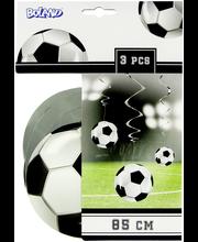 Jalkapallo spiraalikoriste 3 kpl 85 cm