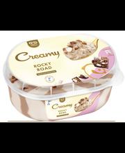 Ingman Creamy 850ml Rocky Road kermajäätelö INTO