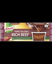 Knorr 4x28g Fond du Chef Tumma naudanliha-annosfondi