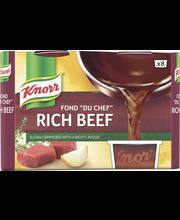 Knorr 8x28g Fond du Chef Tumma naudanliha-annosfondi