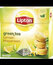 Lipton 20ps Lemon Macaroon pyramidi vihreä tee
